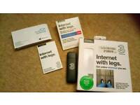 Three internet dongle 3gb perloaded