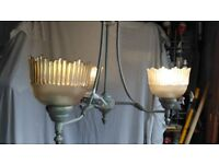 UPLIGHTER STYLE 3 BRANCH LIGHT FITTING