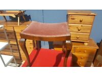 Antique Dressing Table Stool