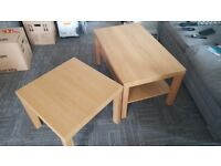 2 x Ikea coffee tables