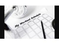 4 week personalised workout