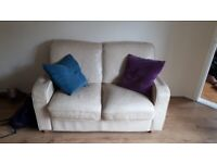 FREE White Two Seater Sofa