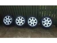 Mercedes 16inch alloy wheels