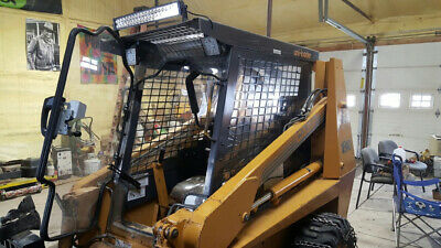 Case 1840 12 Lexan Polycarbonate Skid Steer Door And Cab Mulcher Mower Poly