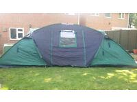 Large six birth tent