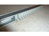 Louvolite Vertical blind track and slats, all complete