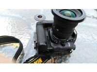 Nikon D7000 SLR Camera and Nikon Battery Grip