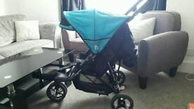 Pushchair out and about