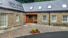 Beautiful, The Byre, 3 bed steading conversion in the rural Perthshire village of Kinfauns