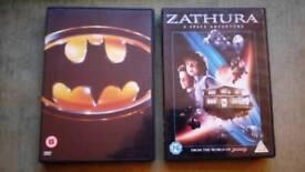 2 x DVD movies £1.00