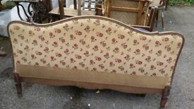 French tapestry bed