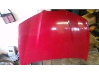2003 SEAT IBIZA 6L BONNET IN RED LP3G