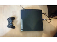 ps3 with 5 games for sale
