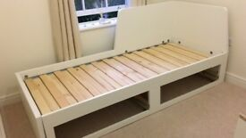 IKEA sofa bed - extends to a very large double bed