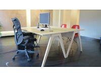Opendesk CNC Studio Desks Scandinavian style Design, office desks