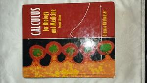 Calculus for Biology and Medicine - Price Reduced