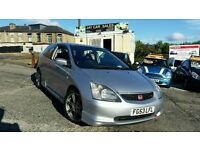 2003 HONDA CIVIC 2.0 EP3 TYPE R 3 DOOR HATCHBACK 6 SPEED MANUAL