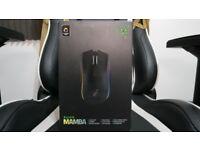 Razer Mamba Wireless Professional RGB Backlight Ergonomic Gaming Mouse