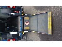 Renault Master fully wheelchair accessible