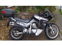 Honda Transalp 600 (1999 2 front discs) perfectly maintained motorcycle MOT 9-2018 + 3 TRAVEL BOXES