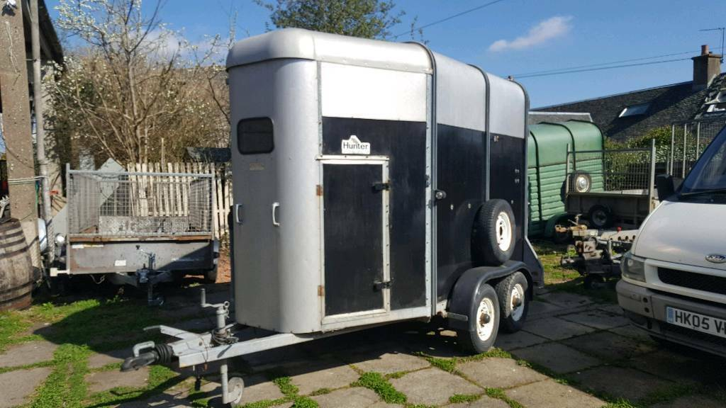 ifor williams 505hb 2xhorse trailer no vat