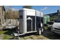 ifor williams 505hb 2xhorse trailer no vat