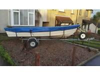 Shetland GH 14 double skin & trailer