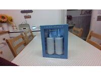 Laura Ashley soap/cream dispensers