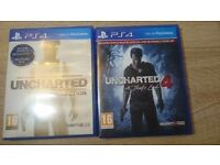 Uncharted 4 + Uncharted The Nathan Drake Collection