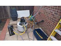Power flush pump fernox mk2 ,fernox filter