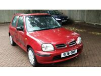 NISSAN MICRA 1.3i 16v GX CVT AUTOMATIC 1998 S REG MET RED 5 DOOR HATCH PAS ONLY 76K - 07826 336 398