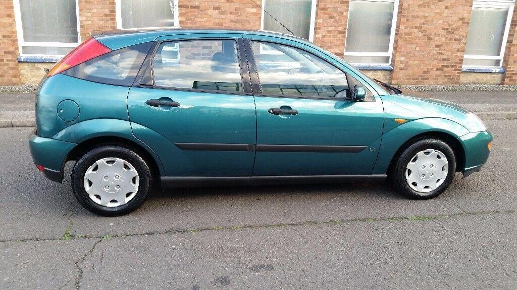 2001 ford focus Zetec, 1.6 litre, automatic, 5 door, mot till October 2018, serviced, good condition