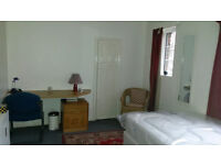 Self-contained one double bedroom flat available now.