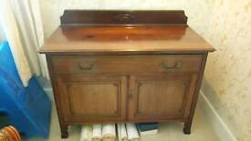 Antique linen cupboard