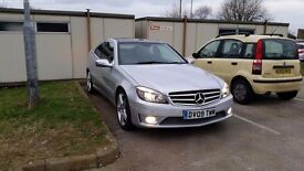09 Mercedes CLC220 CDI Sport, Service History, Panoramic Sun Roof, Electric Heated Leather Seats