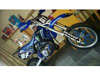 Yz 85 2007 with fresh frame redone