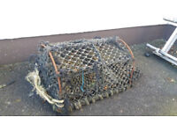 2 lobster pots - solid frames - need re netting
