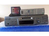 mini disc recorder & player.