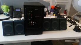 Creative Inspire P580 PC Multimedia Speaker System - good used condition