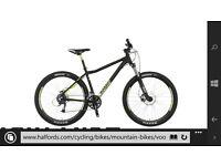 voodoo bantu mens mountain bike 27.5 inch wheels