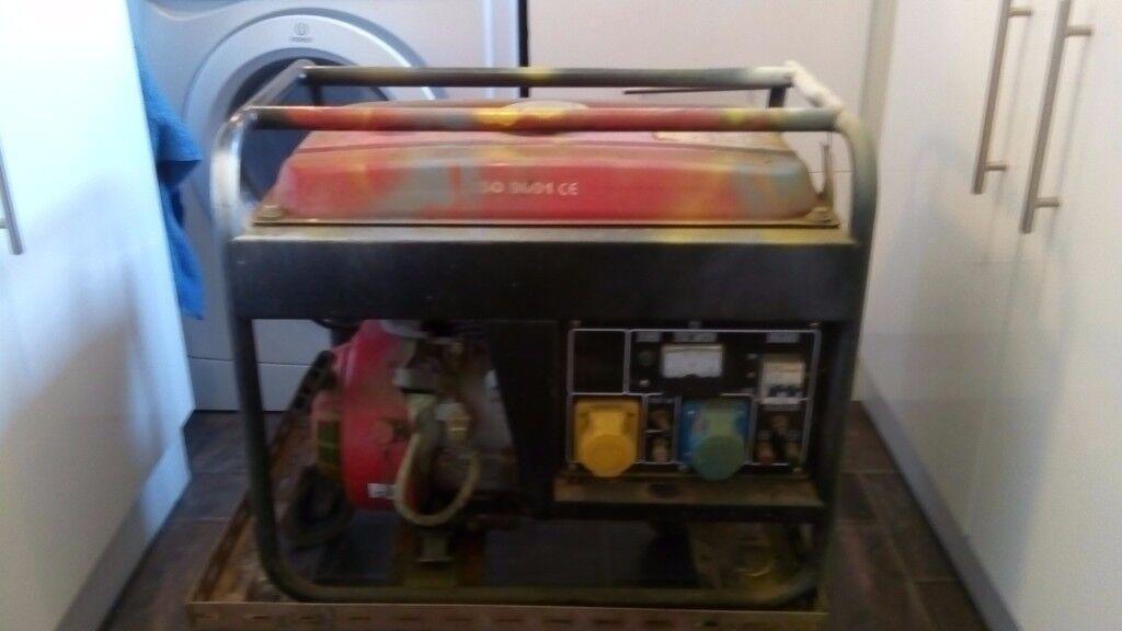 Electricity Generator, 3000 watts 6.5hp petrol 4 stroke