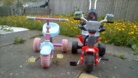 2 children bicycle for sale