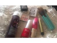 Mixed unused cosmetics