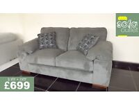 Designer buoyant casey 3 + 2 seater sofas £699