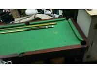Pool Table 6x3