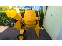 DIESEL CEMENT MIXER - Petter engine, serviced and reliable