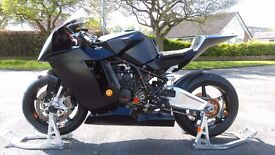 KTM RC8. The best bike to put a smile on your face round a track!