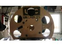 Wine rack cable drum