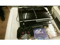 SONY PLAYSTATION 3 WITH GAMES, VERY GOOD CONDITION, CAN BE DELIVERED