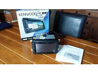 Kenwood DNX521DAB in car entertainment system VW T5